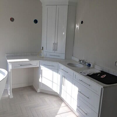 Custom Bathroom Renovation - Kitchens By Torrone